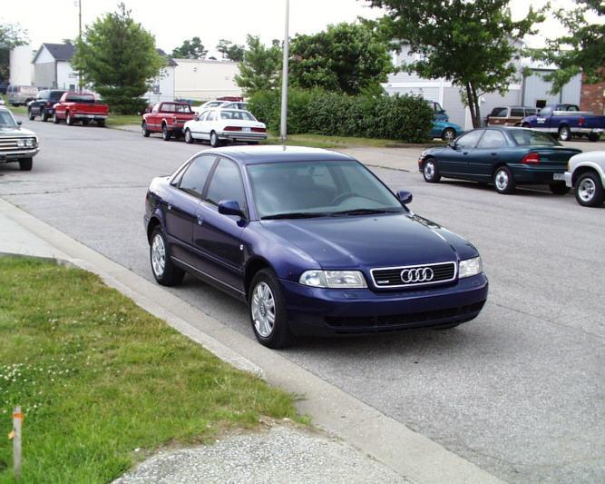 Street Sports Project Cars 1998 Audi A4 1 8t